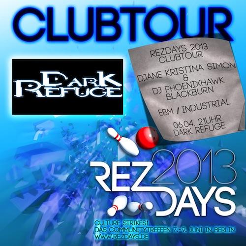 Clubtour Plakat