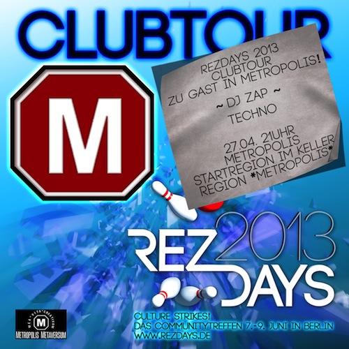 Clubtour Metropolis
