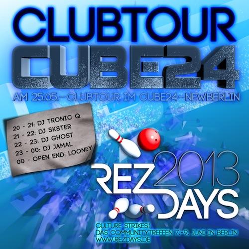 ClubTour CUBE24