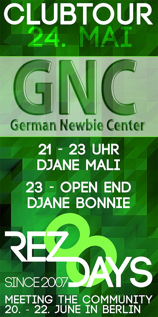 Clubtour am GNC