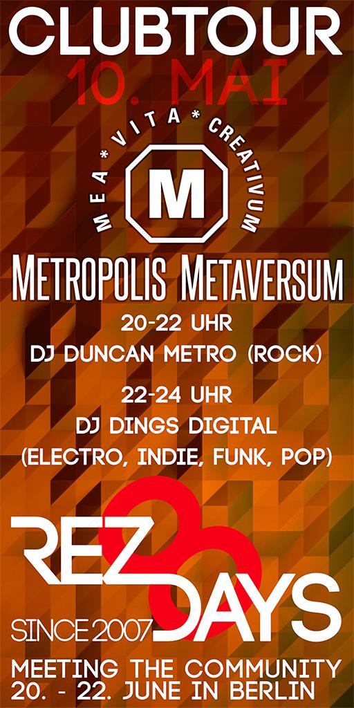 Clubtour im Metropolis