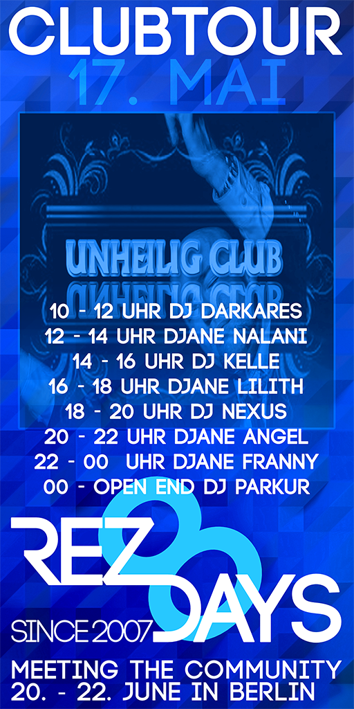 Clubtour im Unheilig