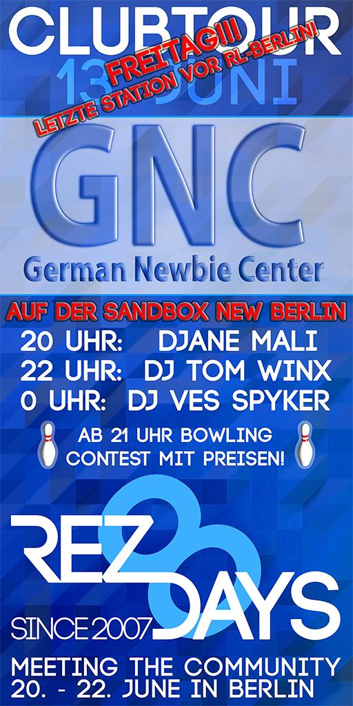 Clubtour GNC Sandbox