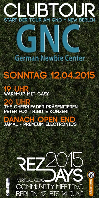 Start RezDays2015  Clubtor in New Berlin