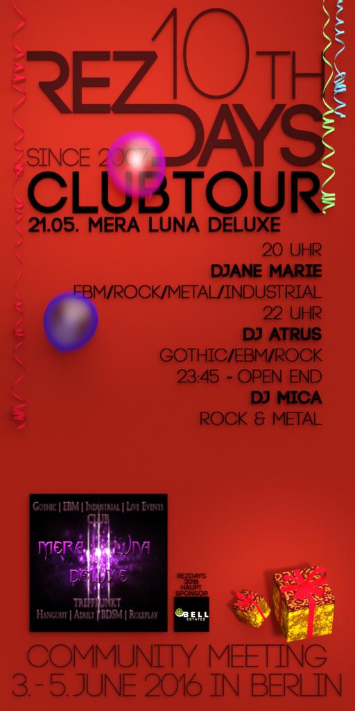 RezDays2016 Mera Luna Deluxe