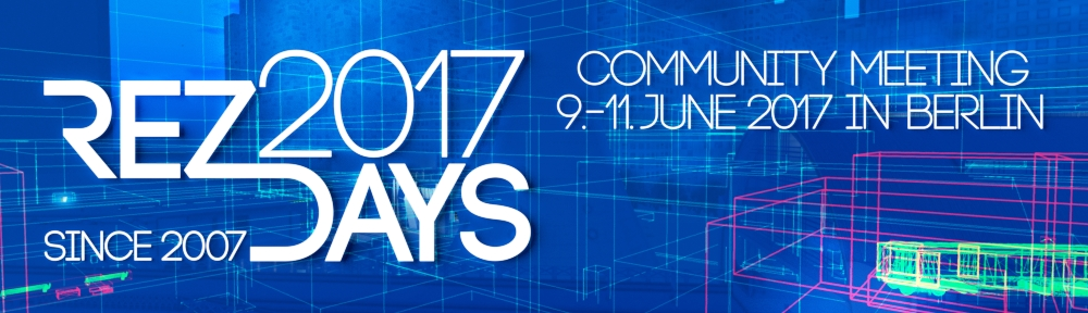 REZDAYS 2017 vom 9.-11. Juni in Berlin