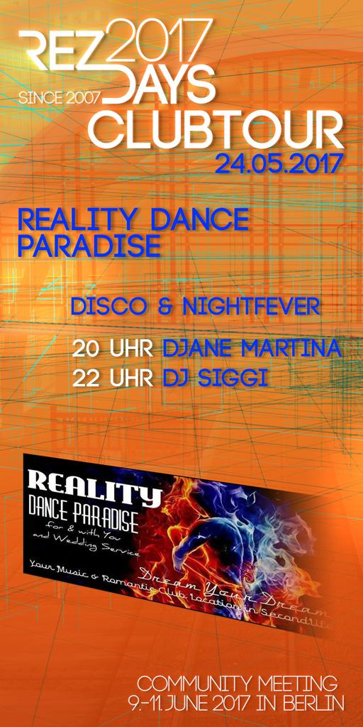 RezDays 2017 Clubtour Reality