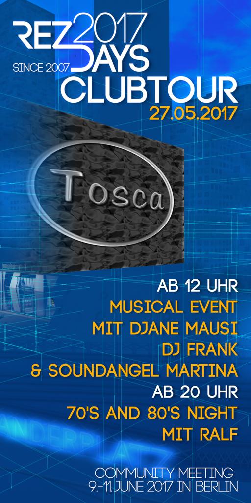 RezDays 2017 Clubtour Tosca